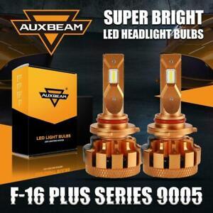 AUXBEAM F-16 Plus 9005 (HB3) LED Headlight High Low Beam 70W 7000 LM White 6000K