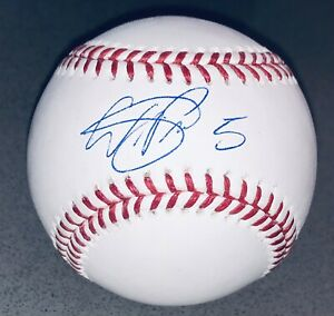 Wander Franco #5 Signed Tampa Bay Rays autographed MLB auto baseball JSA USASM
