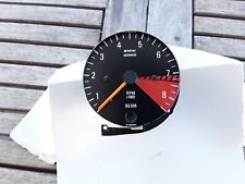 BMW R 90 S R 90/6 R 75/6 R 60/6 R 100 RS S CONTAGIRI MOTOMETER CIFRE BIANCHE RPM