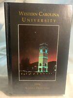 WESTERN CAROLINA UNIVERSITY HC BOOK 1994 ALUMNI DIRECTORY