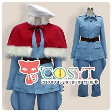 COSYT Axis Power Hetalia Finland Cosplay Costume Cos Clothing With Red Cloak New