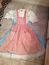 Dorothy from the Wizard of Oz cc/Universal Studios costume size 6/8 medium