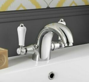 Nabis Barford Lever Basin Mixer Tap Traditional A05021 WRAS Approved RRP £103