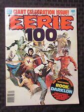 1979 EERIE Warren Horror Magazine #100 FVF Rook Darklon Jim Starlin