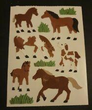 Sandylion Sticker Stoff Maxi Pferde