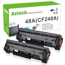 2PK Toner Compatible for HP 48A CF248A LaserJet Pro M15a M15w MFP M28a M28w M29