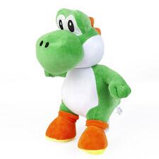 Super Mario Bros Green Yoshi Plush Doll Stuffed Animal Plushie Soft Toy - 12 In