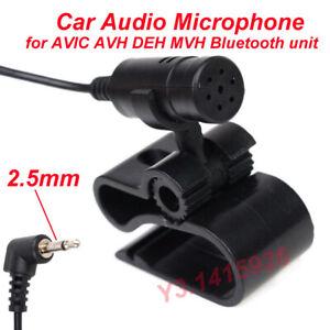 Pioneer Car Audio Microphone 2.5mm plug Mic for AVIC AVH DEH MVH Bluetooth units