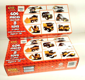 TWO BRAND NEW SETS 2018 Best Lock Construction Toys 404 pieces in each RARE ??