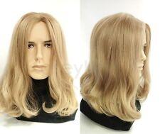 "Mens Dirty Blonde #25 Long Hair Wig Hippie Grunge Jesus Synthetic Costume 14"""