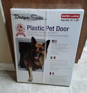 "Ideal Pet Products Designer Series Plastic Pet Super Large Door 15"" X 20"""