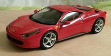 Voiture Hotwheels 1/43 Ferrari 458 Italia