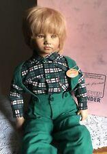 "1987 Bastian Doll by Annette Himstedt 25"" Barefoot Children Collection COA"