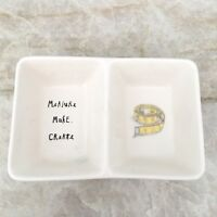 RAE DUNN Measure Make Create Double Trinket Dish Artisan Collection by Magenta