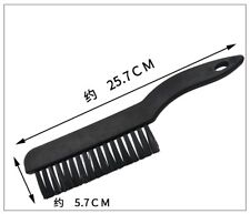 PCB Circuit Board Conductive Ground ESD Anti Static Cleaning Brush Black Handle