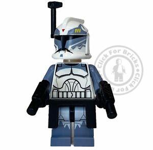 LEGO Genuine Rare Star Wars Clone Commander Wolffe Minifigure From 7964 - sw0330