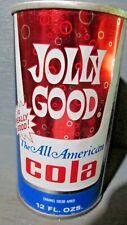 JOLLY GOOD ALL AMERICAN COLA WIDE SEAM STEEL SODA CAN   -[READ DESCRIPTION]-