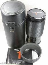 Vivitar Series 1 70-210mm f2.8-4.0 Zoom Lens Olympus OM by Komine v3 HOOD+CASE