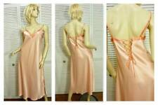 NWT CABERNET CLASSICS LONG NIGHTGOWN MEDIUM PEACH LOW SEXY BACK