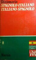 Dizionario spagnolo-italiano, italiano-spagnolo. Ediz. ridotta MURSIA Q494