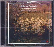 Johann SOBEK 1831-1914 Wind Quintets Op.9, 11, 14 ALBERT SCHWEITZER QUINTETT CD