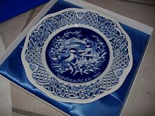 """Winter Melodie"" The 1982 Schumann Imerial Christmas Plate # 2817 of 10,000"