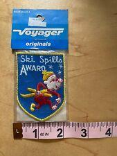 New listing SKI SPILLS AWARD ORIGINAL ~ Vintage Ski Patch ~