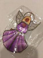 Ornament Angel Purple