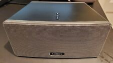 Sonos PLAY:3 Wireless Speaker - TESTED WORKING IN EXCELLENT CONDITION - Gray