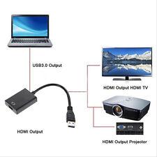 USB 3.0 per HDMI HD 1080P CAVO VIDEO ADATTATORE CONVERTITORE LAPTOP HDTV PC TV