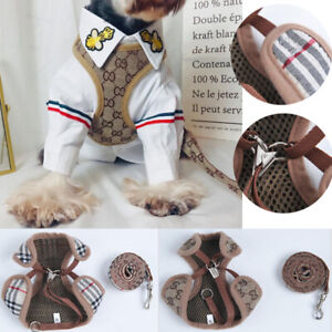 Hot Puppy Small Dog Cat Adjustable Harness Walking Leads Set Pet Supplies Vest