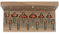 CMT 800.503.11 12-Piece Router Bit Set, 1/4-Inch Shank