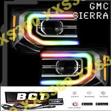 ORACLE for GMC Sierra 16-18 Headlight DRL Upgrade Kit COLORSHIFT Bluetooth BC1