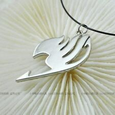 Fairy Tail Logo The union flag Sign cosplay necklace pendant Silver