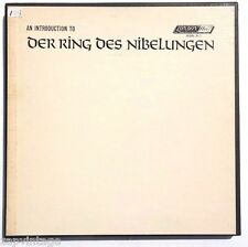 Georg Solti: Der Ring Des Nibelungen LP London Records RDN S-1 US 1969 3XLP Set