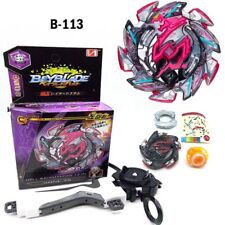 Beyblade BURST B-113 Booster Hell Salamander.12.Op &Grip Launcher Niños juguetes