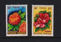 French Polynesia - #196-97 mint, cat. $ 39.00