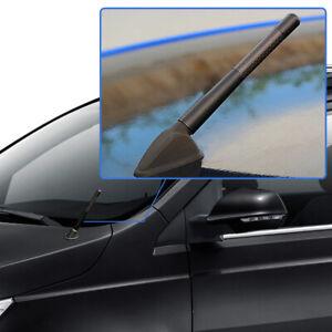 4.7'' Car Antenna Carbon Fiber Radio FM Antena Kit + Screw Universal