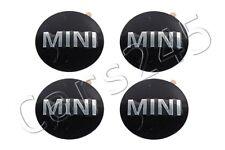 Genuine MINI R50 R53 R56 R55 R52 Wheel Center Hub Cap Emblem Logo Sticker 4x SET