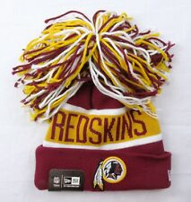 New Era Washington Redskins NFL Knit Hat Beanie Giant Pom