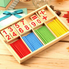 Brand New Montessori Mathematical Intelligence Stick Preschool Educational Toys