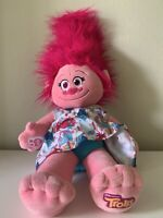 Build-A-Bear POPPY TROLLS Troll With Dress and Knit Character Dress