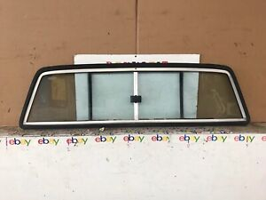 1984-1995 Toyota Pickup Standard Cab Rear Sliding Window Back Glass Slider Oem