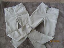 Euc French Toast Girls Skinny Khaki Uniform Pants Size 14 Lot of (2)