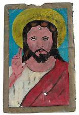 19TH CENTURY ETHIOPIAN BIBLE PICTURE ON VELLUM: