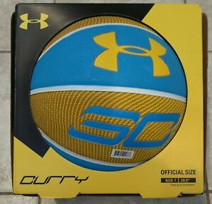 """Steph Curry Charged By Belief Under Amour Basketball Offical Size 29.5"""" Adult"""