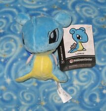 New Lapras Key Chain Plush Doll Toy with Clip Pokemon Center 2014 with Tags