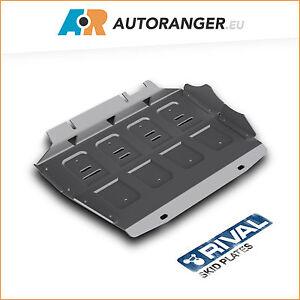 Unterfahrschutz für Radiator — Aluminium 6mm — Ford Ranger / Mazda BT-50