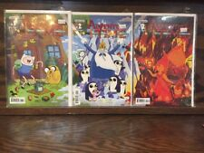 ADVENTURE TIME #1-19 Doubles Missing #9 LOT Kaboom! 2012 1st 2nd 3rd 4th Prints