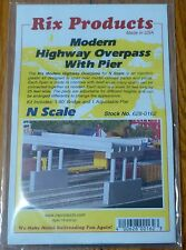 Rix Products N #628-162 Modern Highway Overpass -- 50' Deck w/Pier